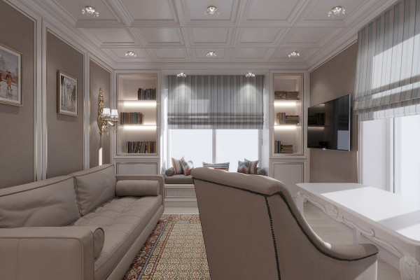 Four-room apartment Design in Moscow 028