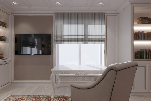 Four-room apartment Design in Moscow 029