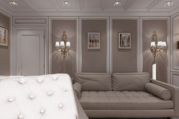Four-room apartment Design in Moscow 025