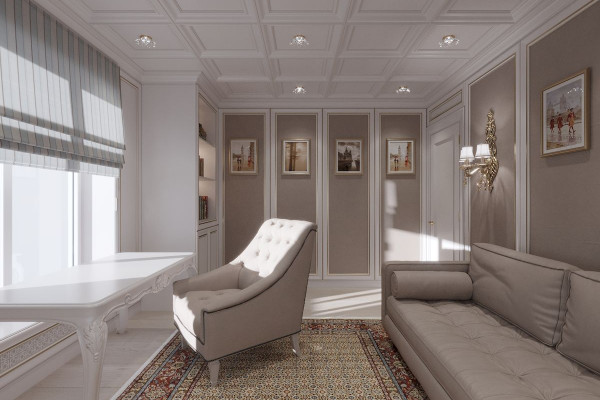 Four-room apartment Design in Moscow 027