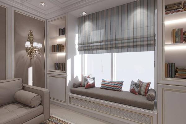 Four-room apartment Design in Moscow 026