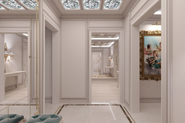 Four-room apartment Design in Moscow 030