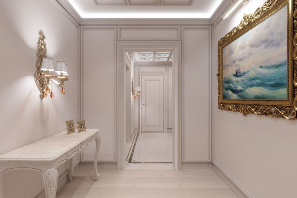 Four-room apartment Design in Moscow 033