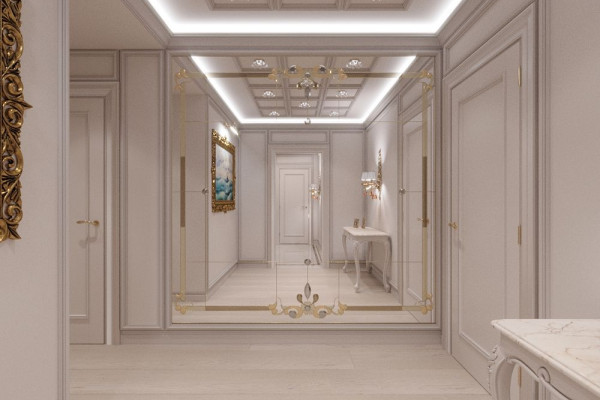 Four-room apartment Design in Moscow 034
