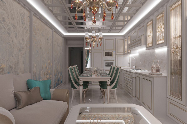 Four-room apartment Design in Moscow 06