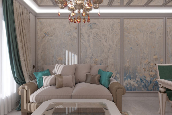Four-room apartment Design in Moscow 07