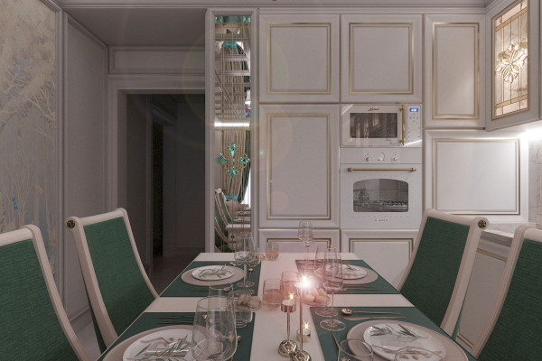 Four-room apartment Design in Moscow 04