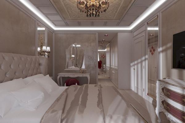 Four-room apartment Design in Moscow 012