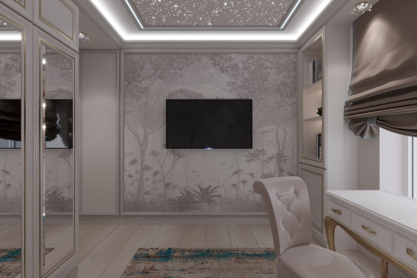 Four-room apartment Design in Moscow 022