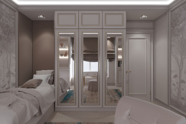 Four-room apartment Design in Moscow 023