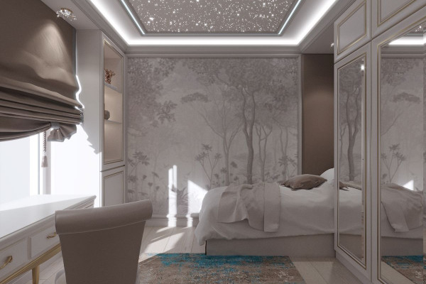Four-room apartment Design in Moscow 021