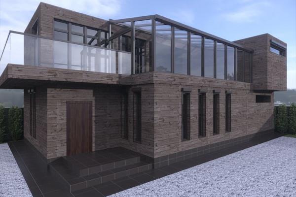 Bathhouse Design in Zvenigorod 025