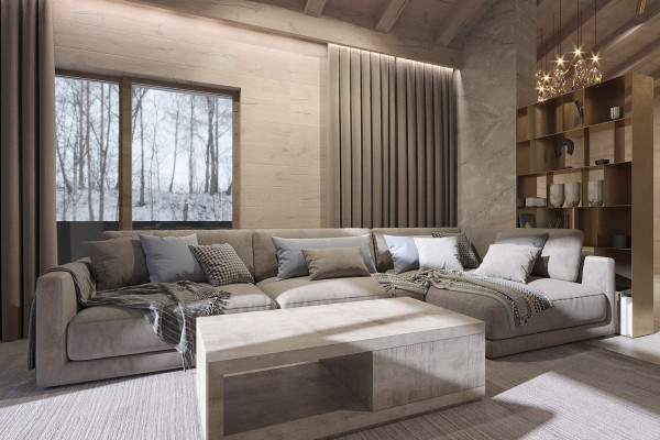 Chalet Style House Design 012
