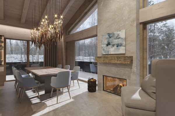 Chalet Style House Design 013