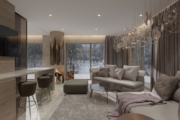 Chalet Style House Design