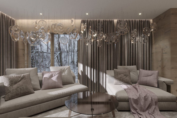 Chalet Style House Design 03