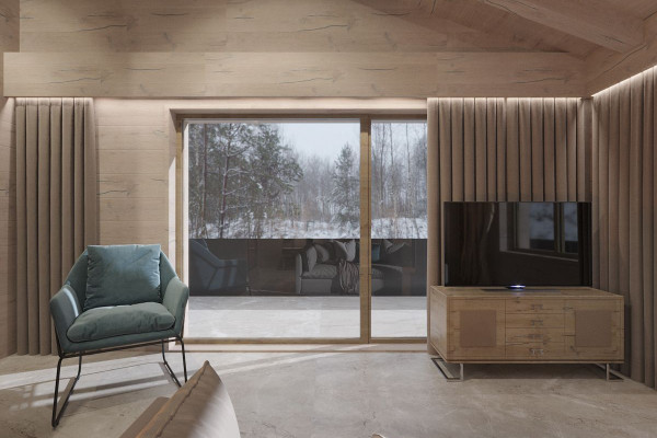 Chalet Style House Design 023