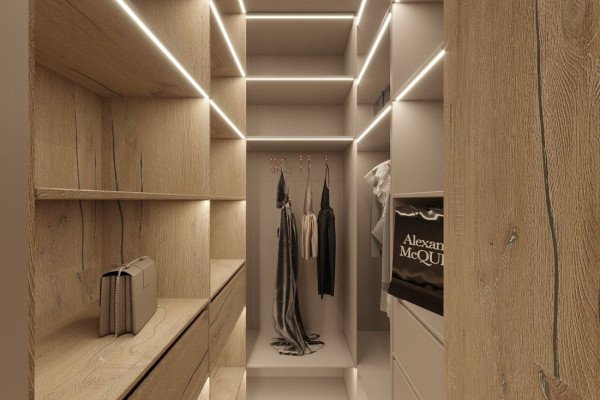 Two-storey Apartment Design in the center of Moscow 019