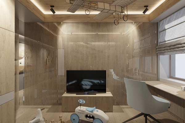 Two-storey Apartment Design in the center of Moscow 042