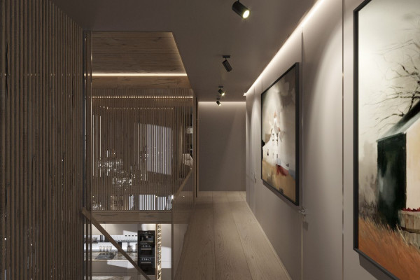 Two-storey Apartment Design in the center of Moscow 054