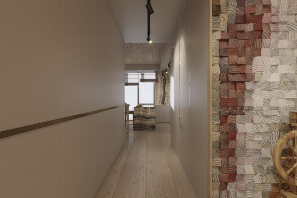 Two-storey Apartment Design in the center of Moscow 040