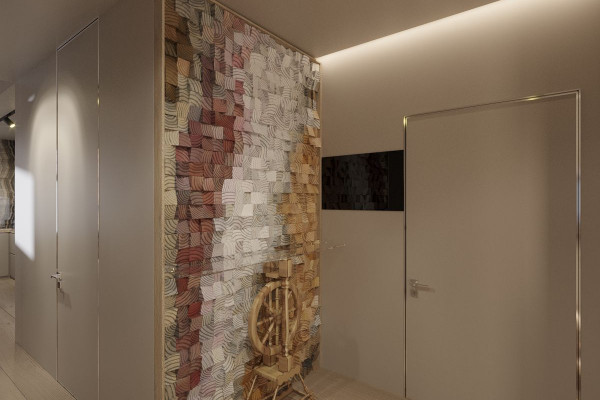 Two-storey Apartment Design in the center of Moscow 039