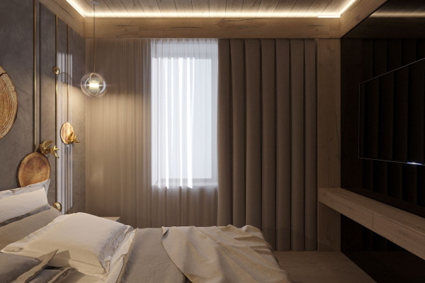 Two-storey Apartment Design in the center of Moscow 027