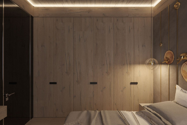Two-storey Apartment Design in the center of Moscow 028