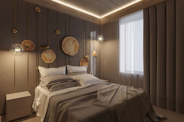 Two-storey Apartment Design in the center of Moscow 024