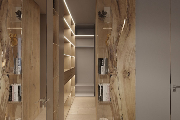 Two-storey Apartment Design in the center of Moscow 017