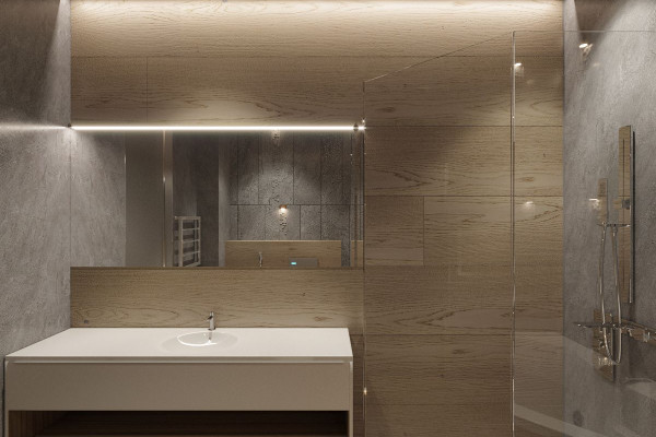 Two-storey Apartment Design in the center of Moscow 031