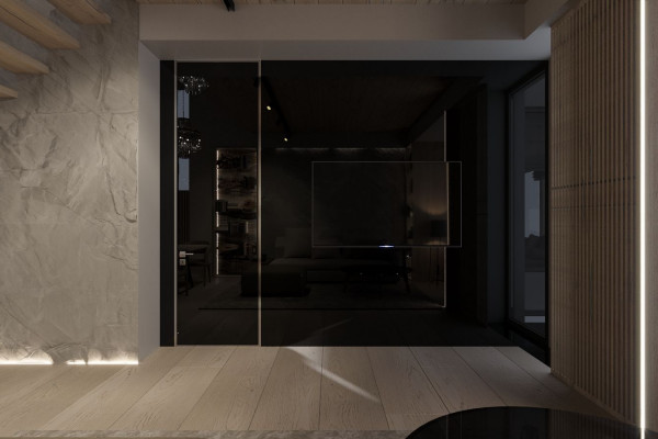 Two-storey Apartment Design in the center of Moscow 04
